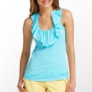 Lilly Pulitzer   Cleo Ruffle Halter Top